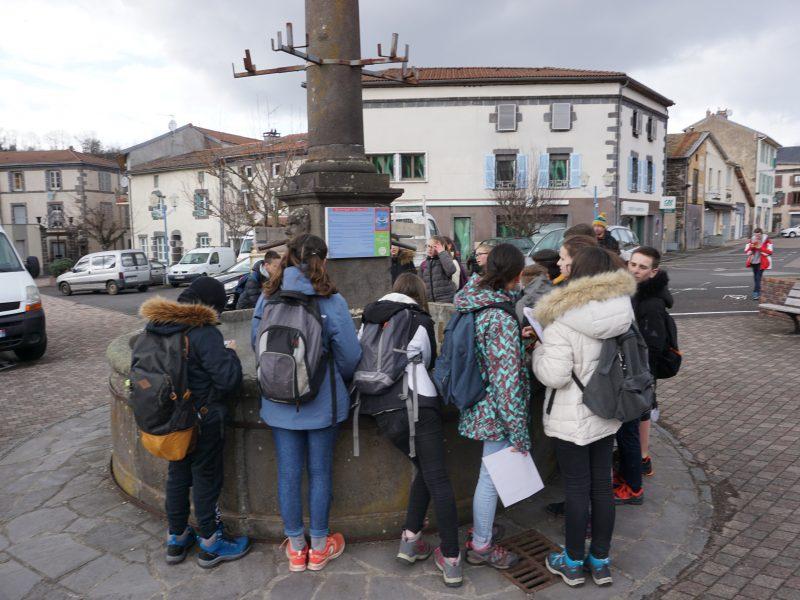 Séjour en Auvergne – 5è – J1