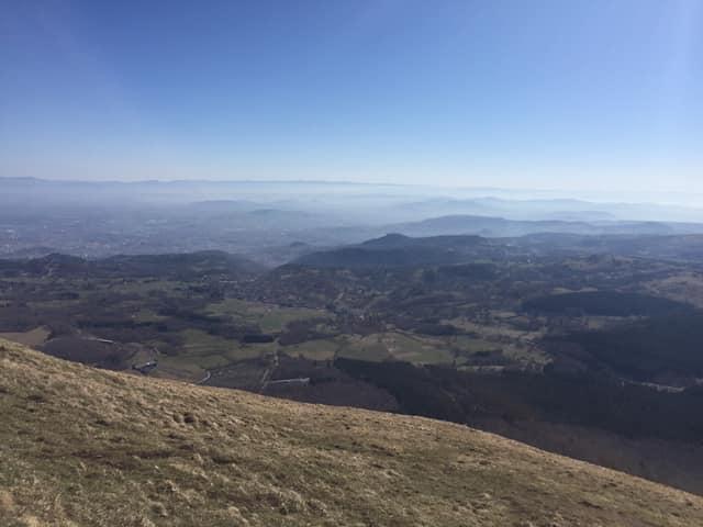 Séjour en Auvergne, 5è, J5, visite du Puy de Dôme